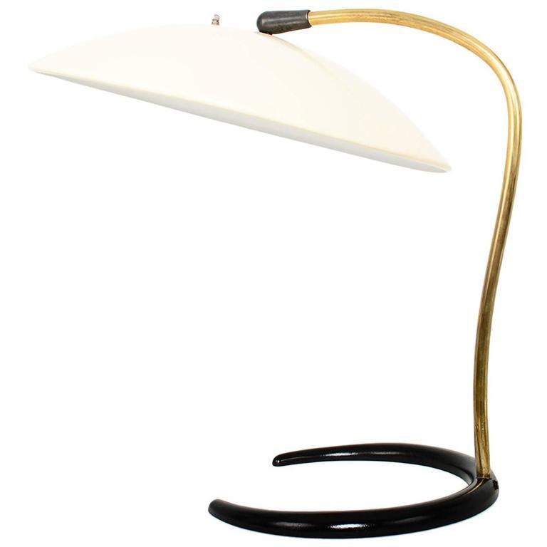Lightolier Desk Lamp By Gerald Thurston For