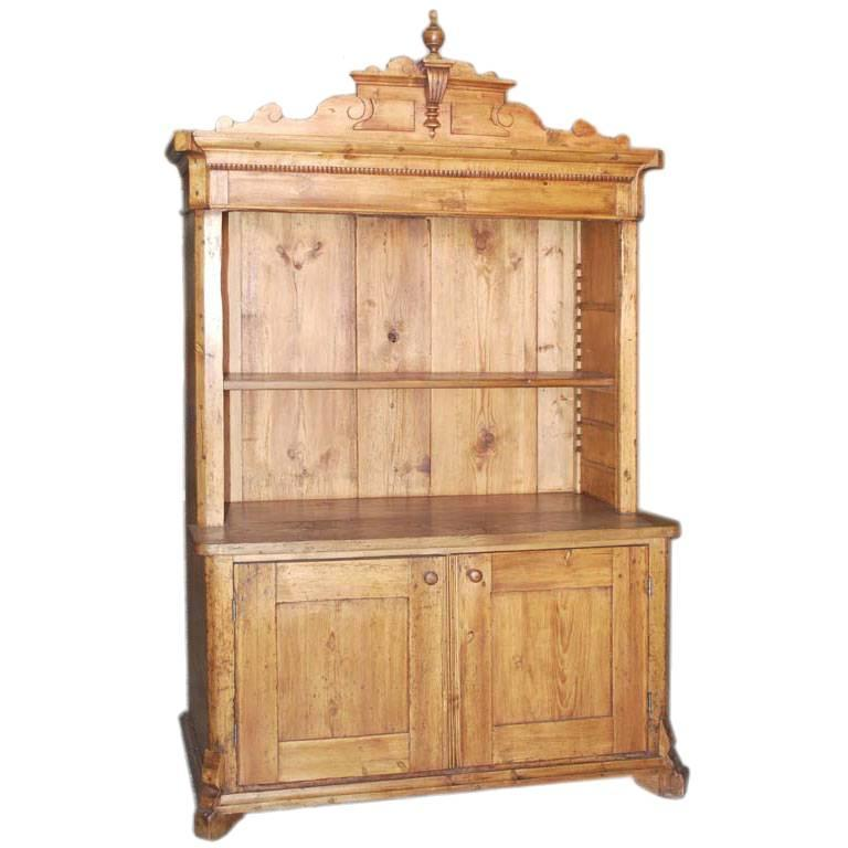 Antique Step-Back Hutch Cupboard For Sale - Antique Step-Back Hutch Cupboard For Sale At 1stdibs