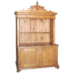 Antique Step-Back Hutch Cupboard