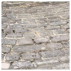 Original French Antique Cobblestone, 17th Century