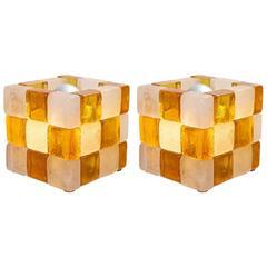 Pair of Cube Lights