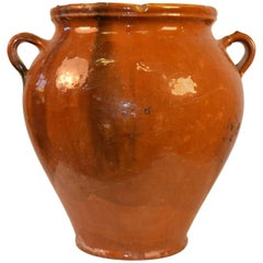 20th Century Terra Cotta Pot