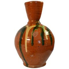 19th Century Earthenware Vase