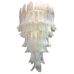 Barovier e Toso Leaf Chandelier