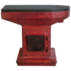 Vintage Industrial Factory Mould as Console Table