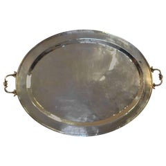 Silver Plated Butler's Tray