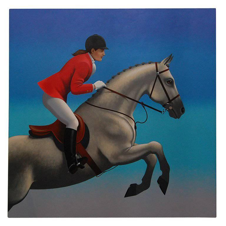 Grand Prix, Beautiful Painting by Lynn Curlee