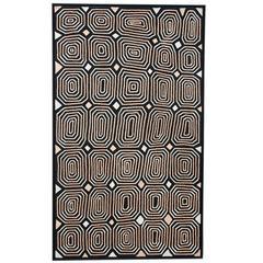 'Itilangi Tjukurpa', Australian Aboriginal Painting, monochrome pattern