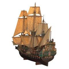 Oversize Model of a Gun Ship