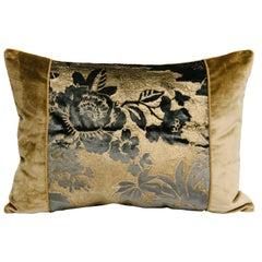 """""""Claudette"""" Painted Silk Velvet Pillow"""