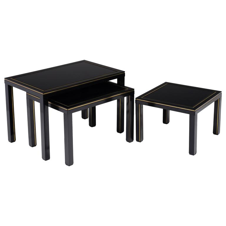 French Vintage Set of Nesting Tables by Pierre Vandel