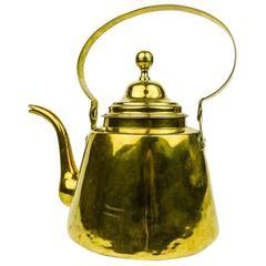 Early 19th Century Dutch Brass Tea Pot, circa 1800