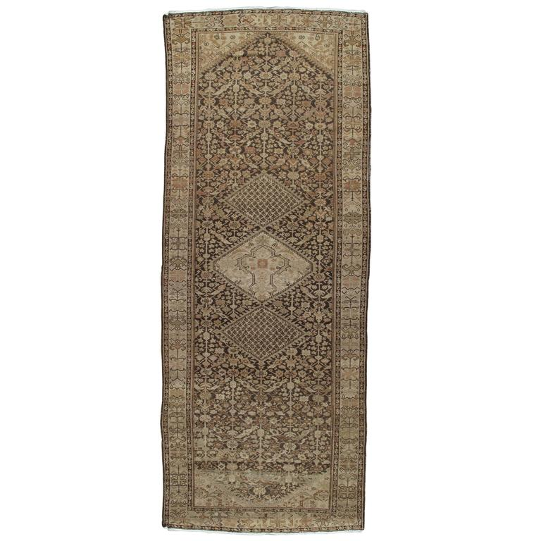 Persian Rugs For Sale: Antique Persian Malayer Carpet, Handmade Oriental Rug