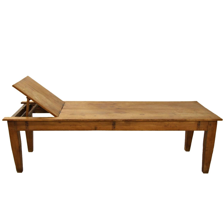 Industrial Coffee Table Primitive Antique Massage Table Or Industrial Coffee Table For
