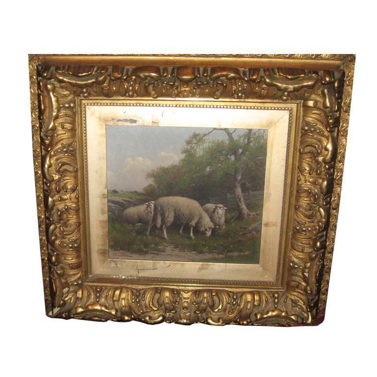 19th Century Oil Painting by American Artist Charles Grant Davidson