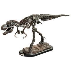 Mid-20th Century Bronze Sculpture of a Dinosaur