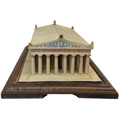 Mid-20th Century Cardboard 'Acropolis'