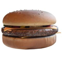 Cheeseburger from a McDonald's Ad Campaign