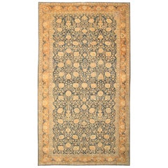 Antique Oriental Tabriz Persian Rug or Carpet
