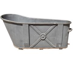 Zinc Bathtub