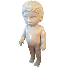 Porcelain Figure of a Boy