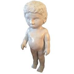 Porcelain Figure of a Boy