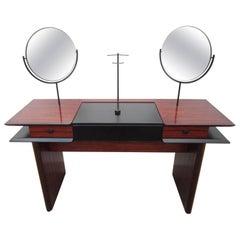 Mid-Century Danish Modern Rosewood Vanity Desk