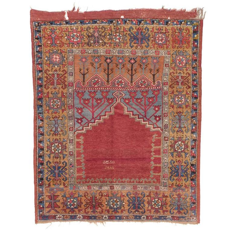 Antique Konya Prayer Rug For Sale At 1stdibs