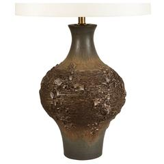 Design Technics Ceramic Table Lamp by Lee Rosen