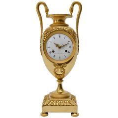 Empire Ormolu Mantel Clock, Early 19th Century