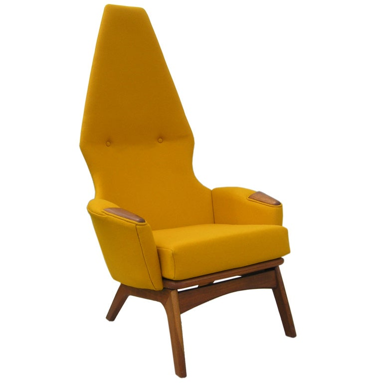 High-Back Armchair, Model 2056-C, by Adrian Pearsall for Craft Associates