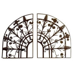 Wrought Iron Architectural Element