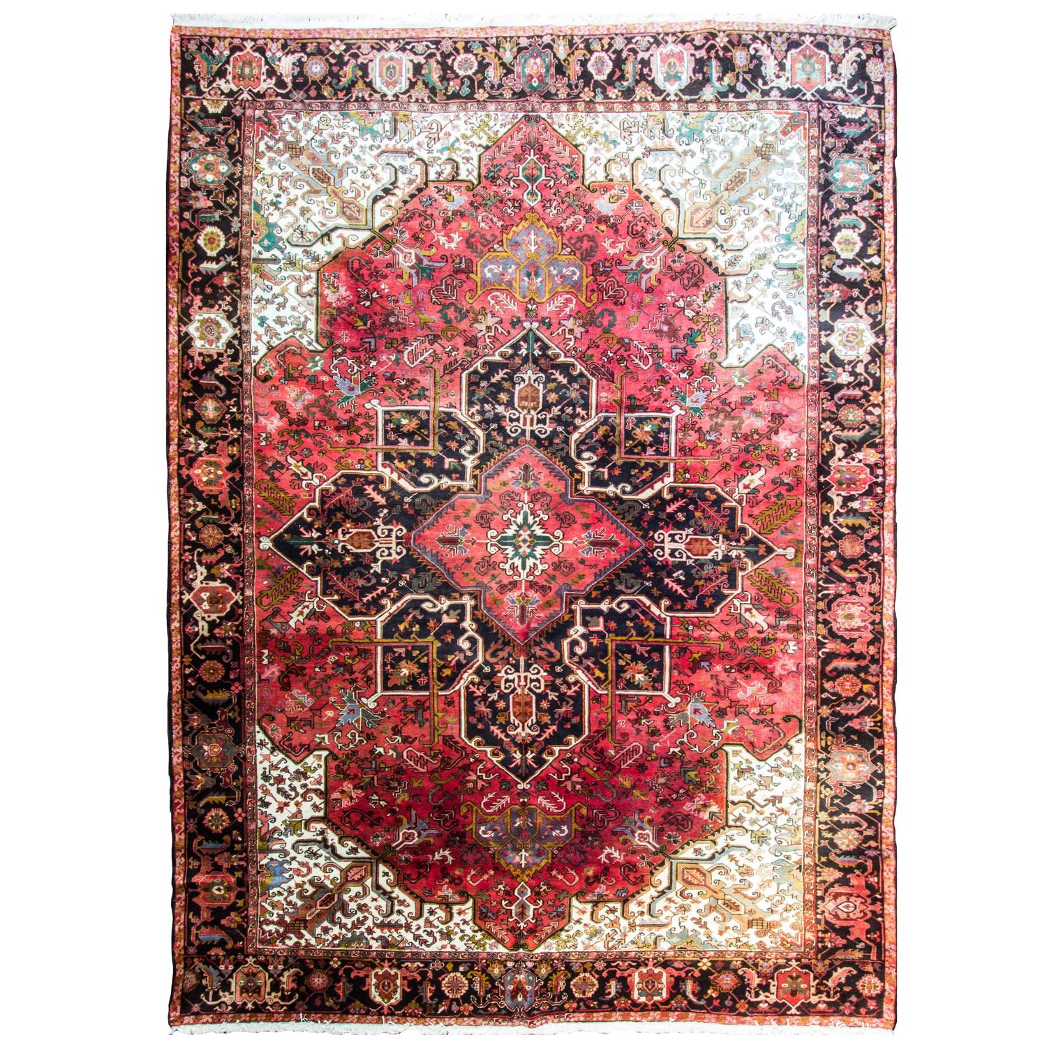 Persian Heriz Carpet For Sale At 1stdibs