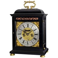 Antique William III Period Bracket Clock by William Fuller, London