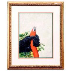 Original Gorilla Hand Gouache Illustration for the Transatlantic Cable