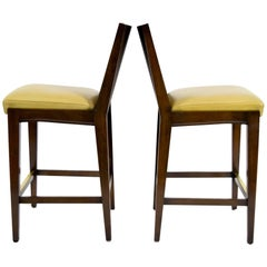 "Pair of ""Kenya"" Counterheight Barstools by Axis"