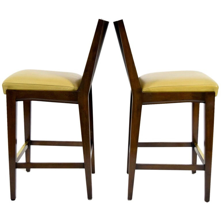 "Pair of ""Kenya"" Counterheight Barstools by Axis For Sale"