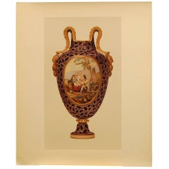"Prints from ""Sevres Porcelain of Buckingham & Windsor Castles"""