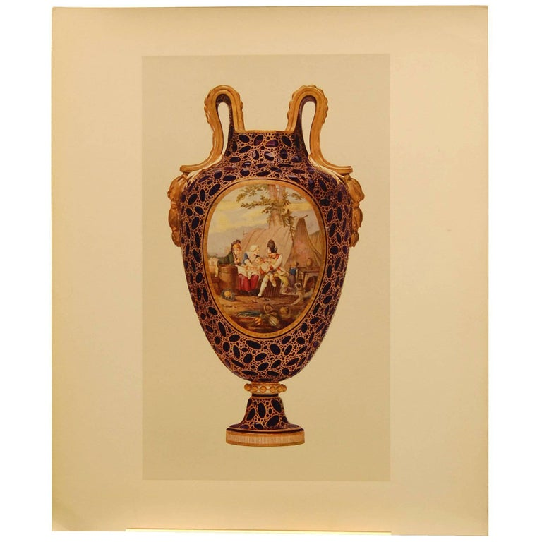 """Prints from """"Sevres Porcelain of Buckingham & Windsor Castles"""" For Sale"""