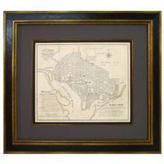 Original Plan for the City of Washington by Ellicott & L'Enfant, circa 1852