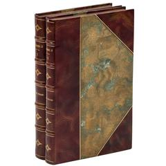 """""""Roughing It"""" by Mark Twain First Edition Two-Volume First Printing, circa 1872"""