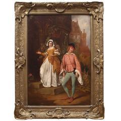Painting of a Shakespearian Scene by John Callcott Horsley