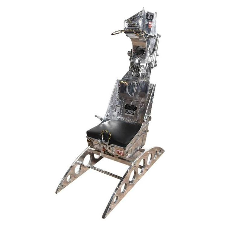 Polished Martin Baker Ejection Seat