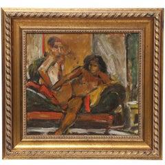 Painting by Eduardo Rouario, circa 1968