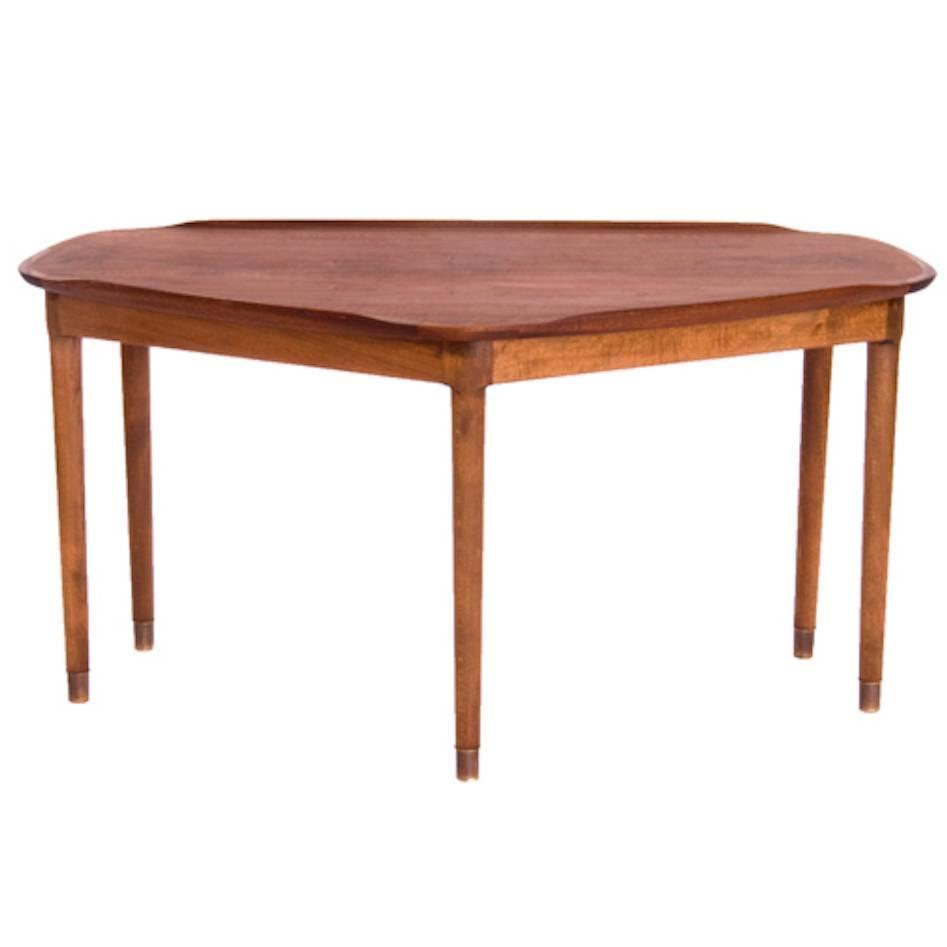 Vintage danish modern sofa table for sale at 1stdibs for Sofa table sale