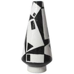 Vilhelm Bjerke Petersen Vase for Rorstrand Studio, Signed 1954
