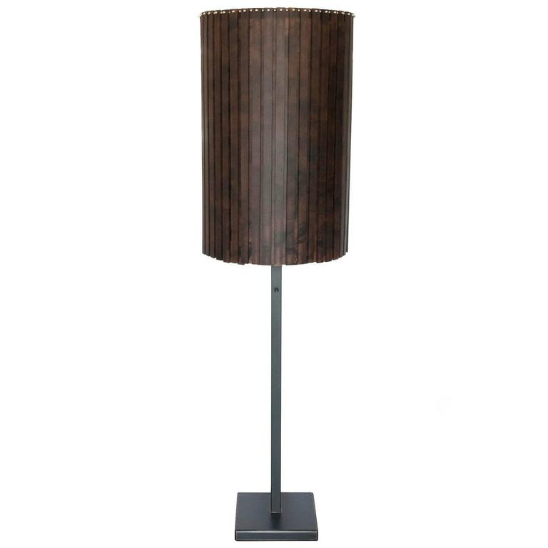 martha sturdy resin fringe floor lamp at 1stdibs. Black Bedroom Furniture Sets. Home Design Ideas
