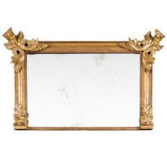 Giltwood Overmantel Mirror, circa 1835