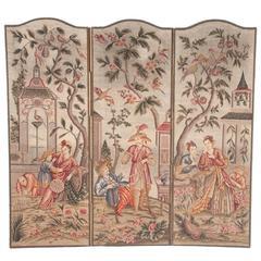 Three-Panel Tapestry