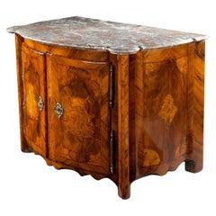 Fine Regence, Louis XV, Baroque or Rococo Marquetry Cabinet Buffet